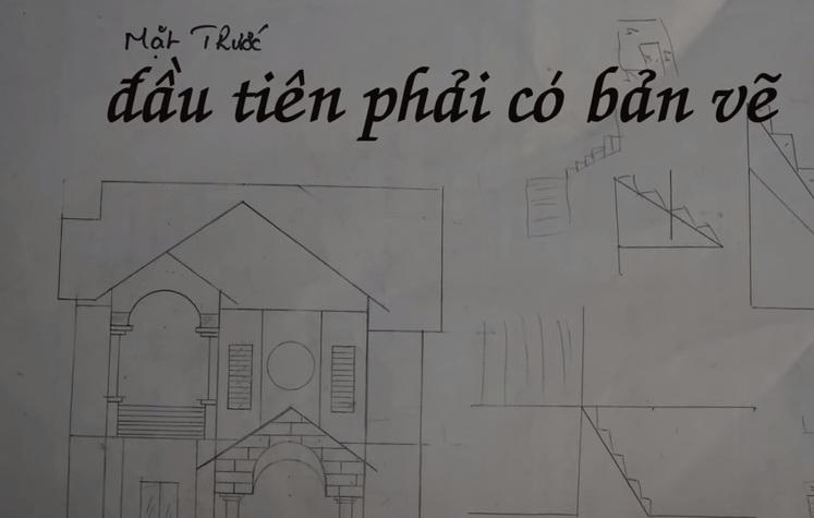 Bản vẽ thiết kế nhà tăm tre