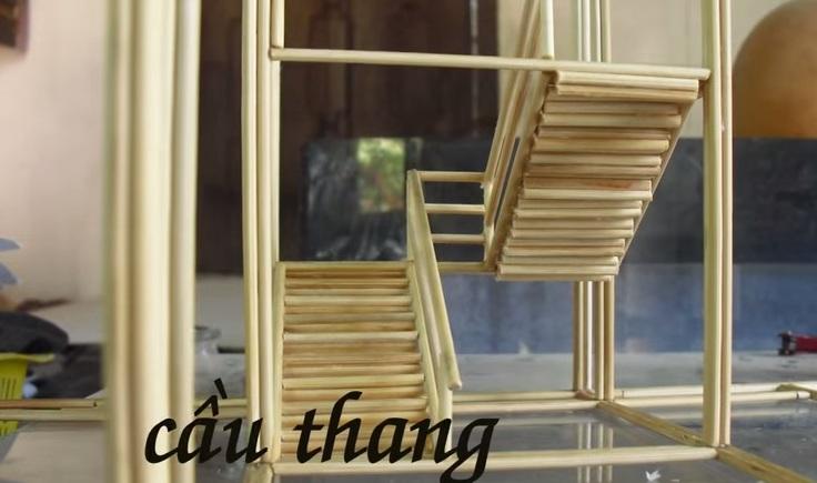 Cầu thang của căn nhà
