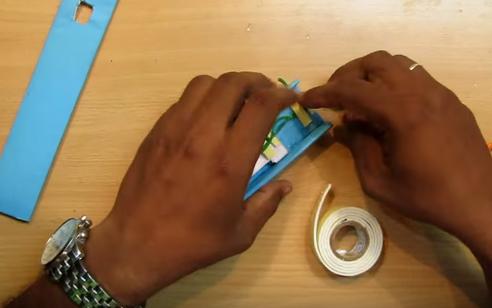 Cách làm dao sát thủ gắn vào ống tay