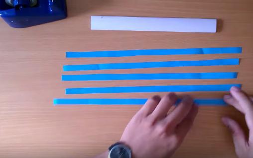 Cách làm kiếm giấy Katana Nhật Bản