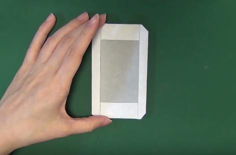 Cách gấp hình Iphone