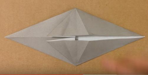 Cách gấp con ma bằng giấy