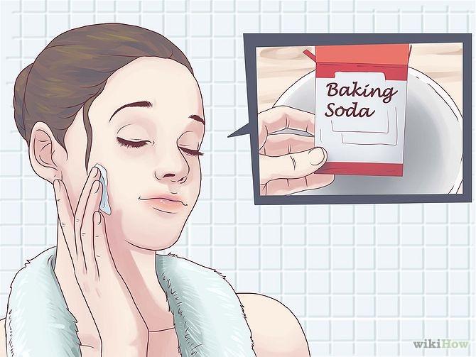 Trị mụn bằng baking soda