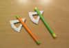 Cách làm cái rìu bằng giấy