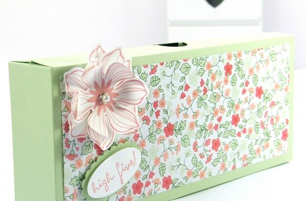 5 cách làm hộp quà hình chữ nhật đẹp nhất - Mẫu 2
