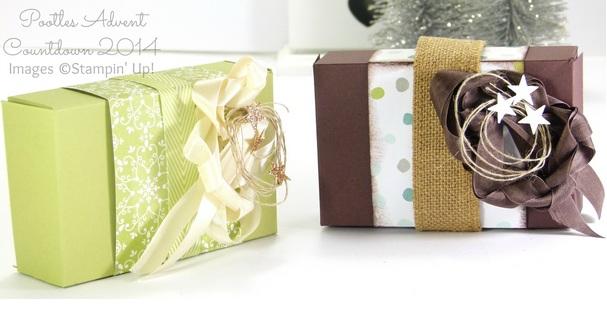 5 cách làm hộp quà hình chữ nhật đẹp nhất - Mẫu 4