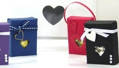 5 cách làm hộp quà hình chữ nhật đẹp nhất - Mẫu 5