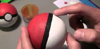 Cách làm quả bóng Pokemon đồ chơi