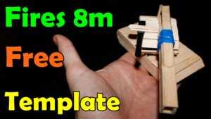 Cách làm xe tăng đồ chơi bằng que kem