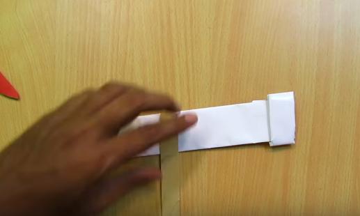 Cách làm quạt gió gắn cánh tay từ que kem
