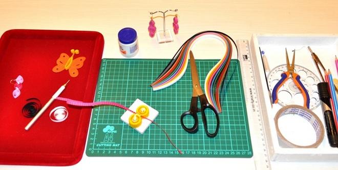 Dụng cụ cần thiết khi chơi mô hình giấy