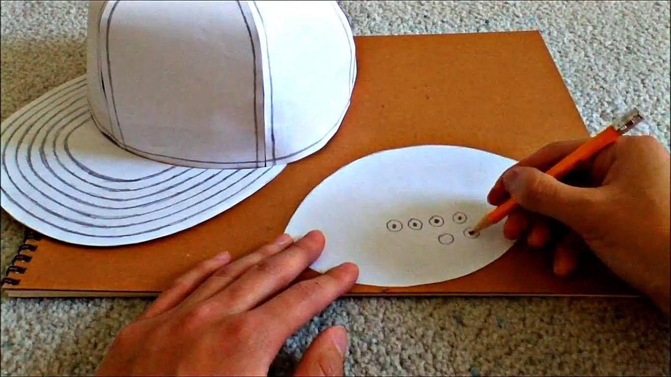 Cách làm mũ hiphop sành điệu bằng giấy