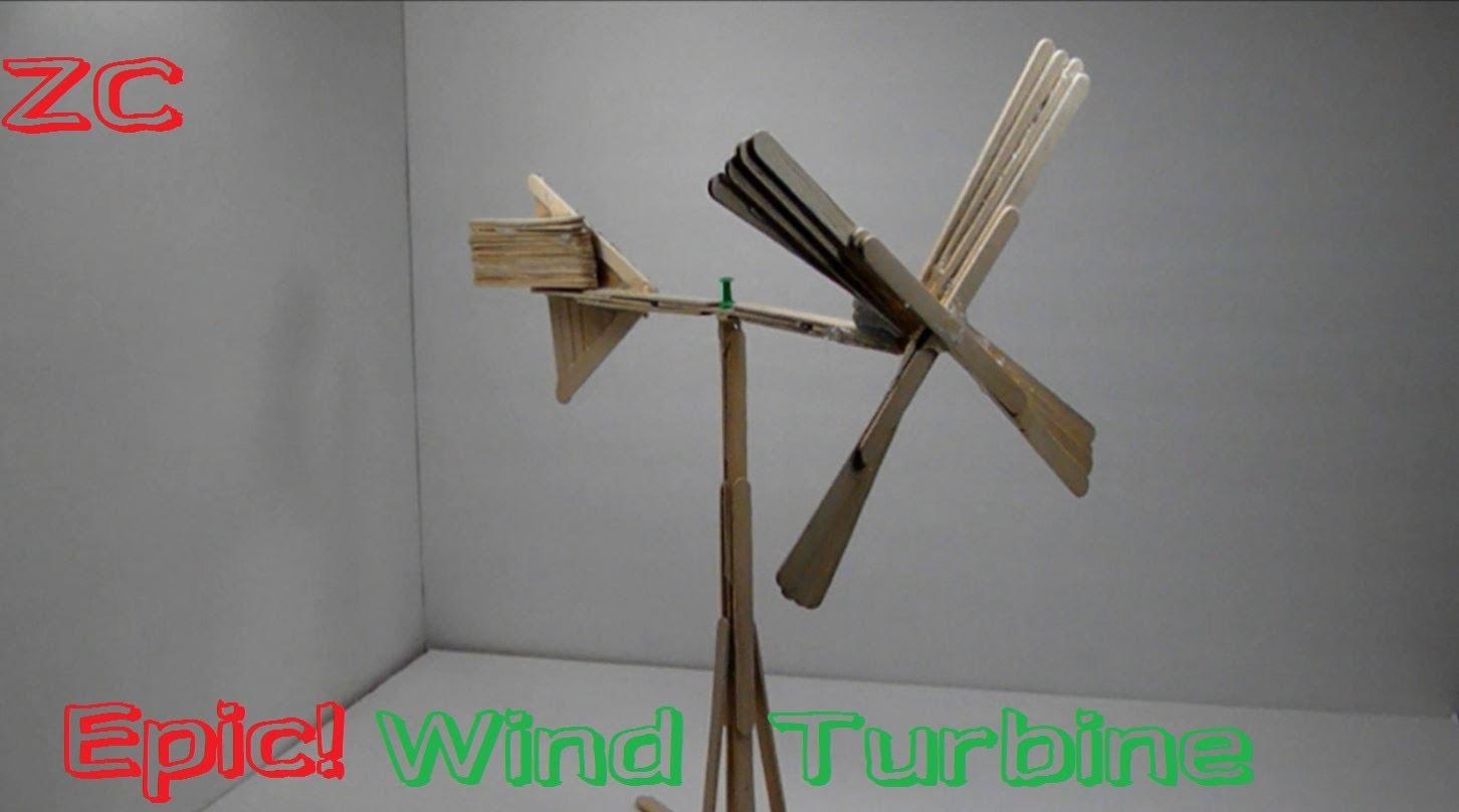Cách làm cối xay gió bằng que đè lưỡi
