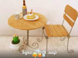 Cách làm bộ bàn ghế ăn bằng que đè lưỡi