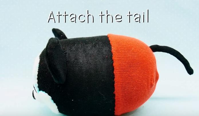 Cách làm chú chuột Mickey nhồi bông