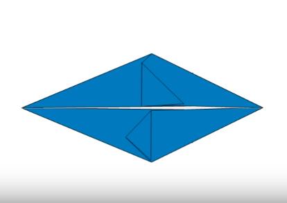 Cách gấp con cá heo bằng giấy