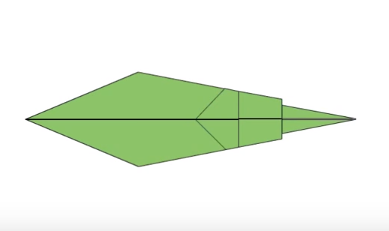 Cách gấp con thằn lằn cổ xòe bằng giấy