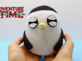 Cách làm chim cánh cụt nhồi bông