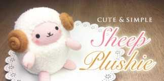 Cách làm chú cừu nhồi bông ngộ nghĩnh bằng bít tất