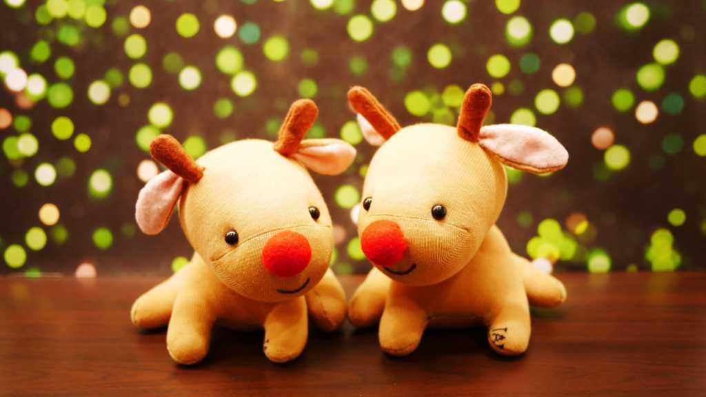 Cách làm bé Tuần Lộc nhồi bông đáng yêu cho mùa Giáng Sinh