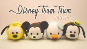 Làm chuột Mickey – vịt Donald – chú chó Goofy và cún Pluto nhồi bông
