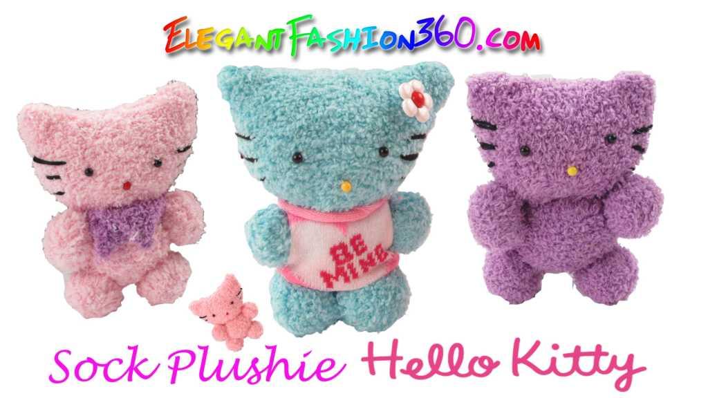 Cách làm mèo Hello Kitty nhồi bông cực xinh