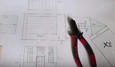 Cách làm mô hình nhà đơn giản bằng que đè lưỡi