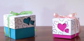 Cách làm hộp quà valentine đáng yêu