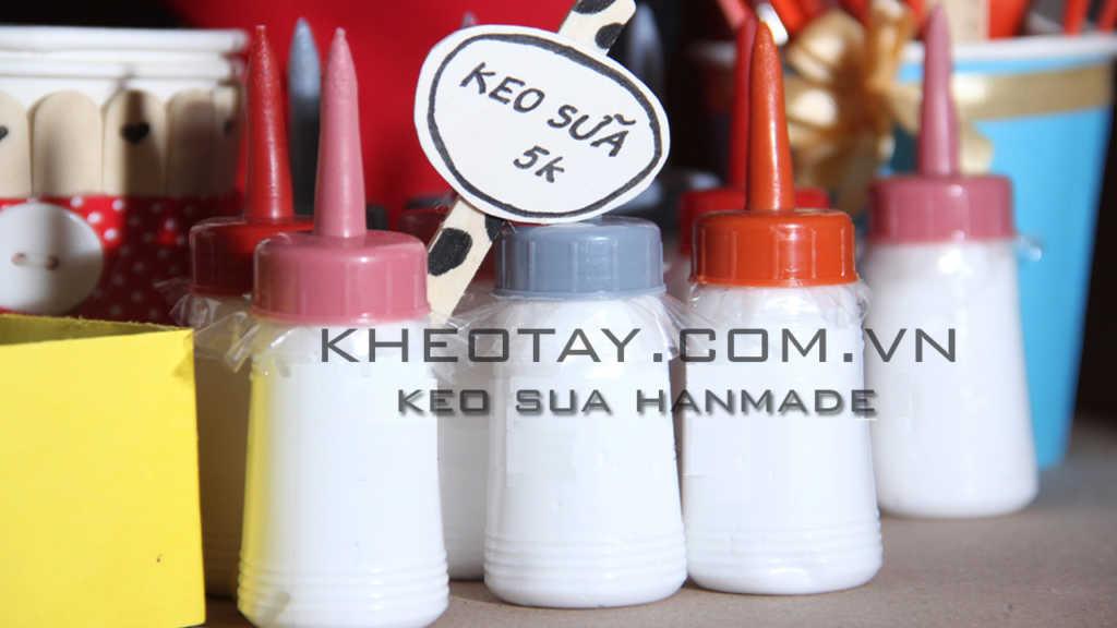Keo sữa chuyên dụng làm đồ handmade