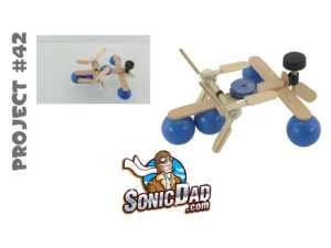 Cách làm thuyền đồ chơi mini bằng que đè lưỡi