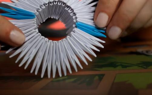 Cách làm mèo Hello Kitty Origami 3D