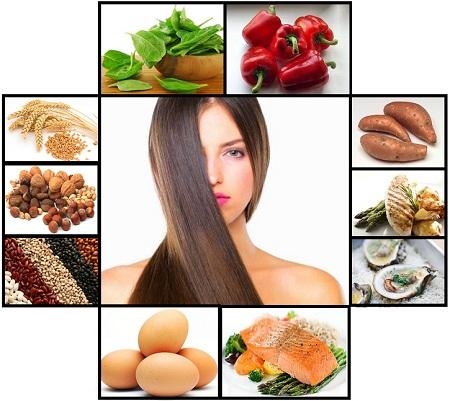 Cung cấp đủ dinh dưỡng để tóc khỏe mạnh và dài nhanh