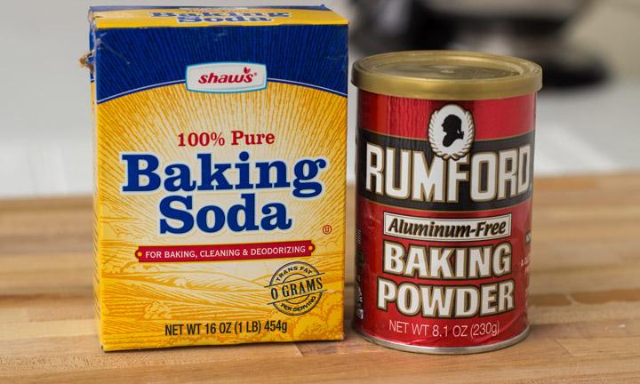 Phân biệt baking soda và baking powder