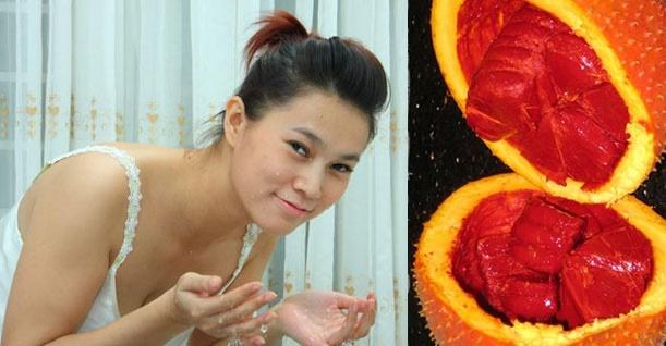 Làm mờ vết thâm, dưỡng da, đẹp tóc hiệu quả bằng dầu gấc