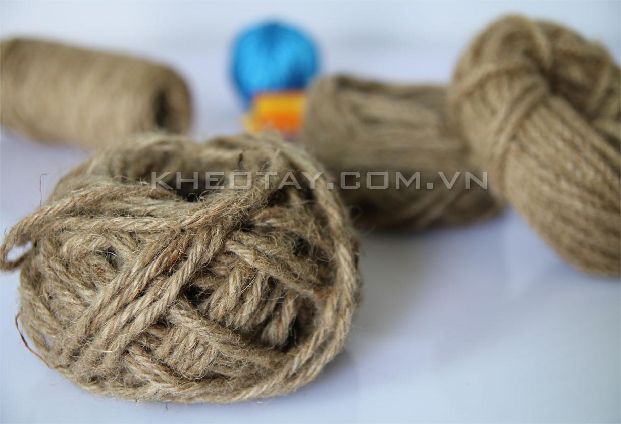 Đặc trưng của dây thừng làm từ sợi gai