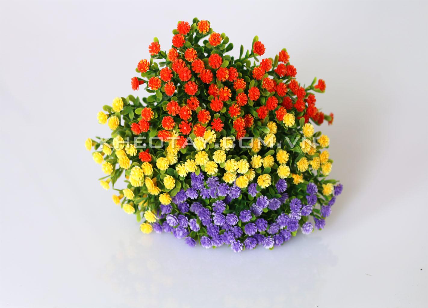Mẫu hoa lá trang trí mô hình