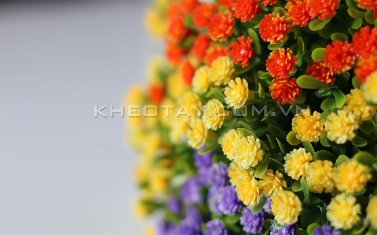 Mẫu hoa trang trí