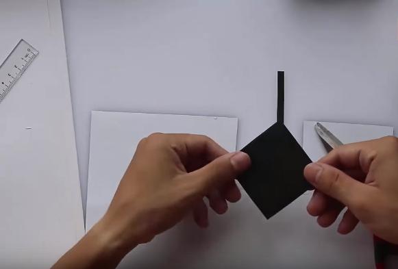 Cách làm phi tiêu Ninja bằng giấy