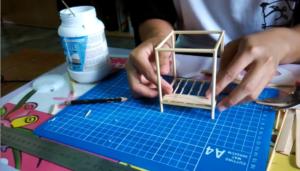 Cách làm nhà tranh đơn giản