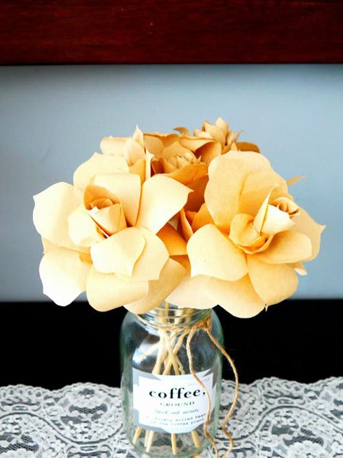 Cách làm hoa hồng tuyệt đẹp bằng giấy