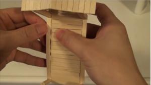 Cách làm cây cầu tre vô cùng ấn tượng
