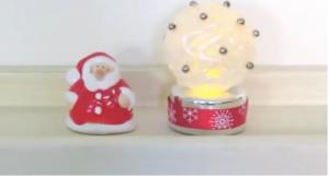 Cách làm quả cầu đèn LED bằng keo nến