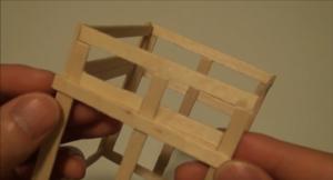 Cách làm ngôi chùa từ que đè lưỡi