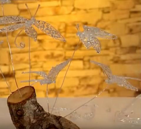 Cách làm cánh bướm bằng keo nến siêu đáng yêu