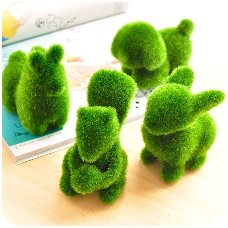 Ứng dụng độc đáo của thảm cỏ nhân tạo trong làm đồ handmade