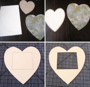Cách làm khung hình trái tim siêu ấn tượng