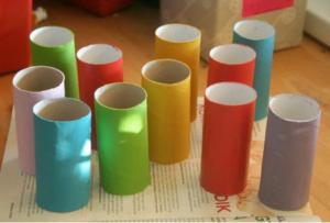 Cách làm ô tô đồ chơi bằng ống giấy đẹp mắt