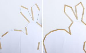 Cách làm chú thỏ vô cùng độc đáo để bàn