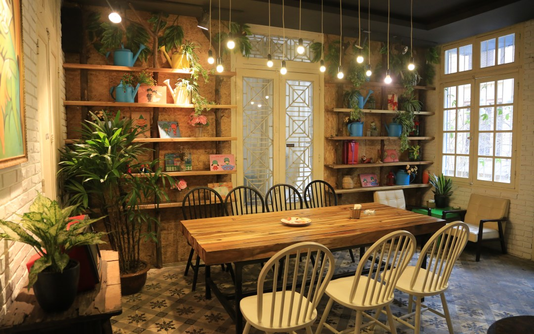 Những ý tưởng trang trí quán café độc đáo bằng dây thừng
