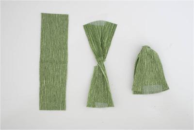Cách làm cây sen đá đẹp lung linh bằng giấy nhún